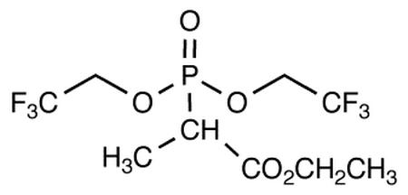 Ethyl 2-[bis(2,2,2-trifluoroethyl)phosphono] propionate