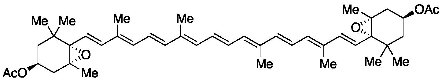 trans-Violaxanthin Diacetate