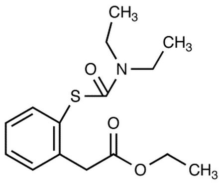 Ethyl [2-Diethylaminocarbonylthio)]phenylacetate