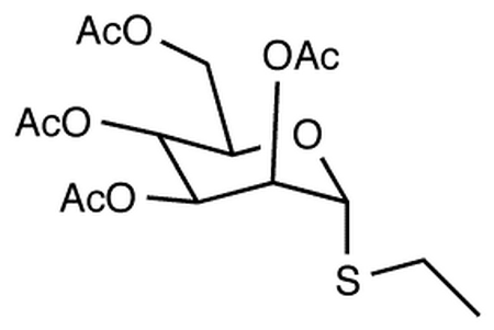Ethyl 2,3,4,6-Tetra-O-acetyl-α-D-thiomannopyranoside (contains up to 20% beta isomer)