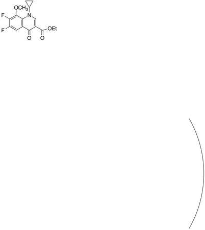 Gatifloxacin Carboxyclic Acid Ethyl Ester
