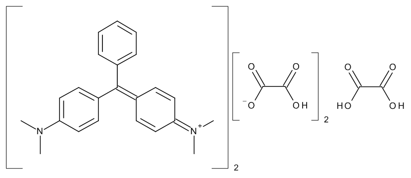 Malachite green oxalate salt