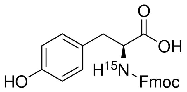Fmoc-L-Tyrosine-<sup>15</sup>N