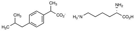 (R)-(-)-Ibuprofen, (S)-(+)-Lysinate