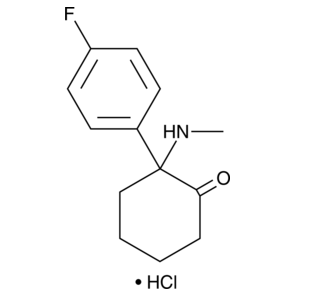 4-fluoro Deschloroketamine hydrochloride