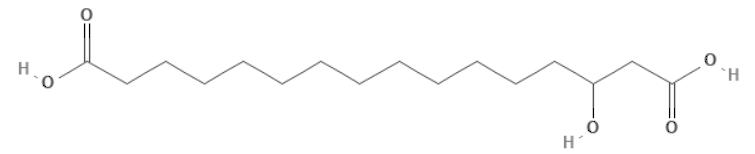 3-Hydroxyhexadecanedioic acid
