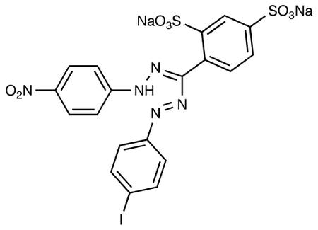 4-[1-(4-Iodophenyl)-5-(4-nitrophenyl)-formaz-3-yl]-1,3-benzene Disulfonate Disodium Salt