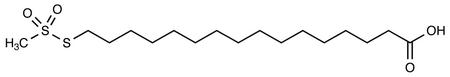 16-Methanethiosulfonyl Hexadecanoic Acid