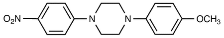 1-(4-Methyloxy-phenyl)-4-(4-nitro-phenyl)-piperazine