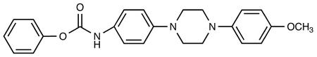 4-[[4-(4-Methyloxy-phenyl)-piperazin-1-yl]-phenyl]-carbamic Acid Phenyl Ester