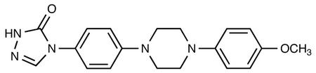 4-[[4-(4-Methyloxy-phenyl)-piperazin-1-yl]-phenyl]-2,4-dihydro-[1,2,4]-triazol-3-one