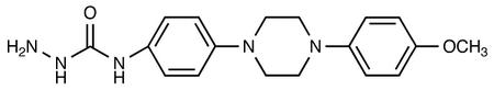 4-[[4-(4-Methyloxy-phenyl)-piperazin-1-yl]-phenyl]-hydrazinecarboxamide