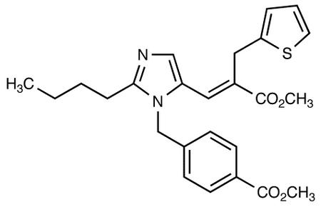 Methyl (E)-3-[2-Butyl-1-[(4-Carbomethoxyphenyl)methyl]imidazol-5-yl]-2-(2-thienylmethyl)-2-propenoate