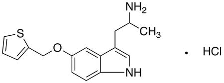α-Methyl-5-(2-thienylmethoxy)-1H-indole-3-ethanamine MonoHCl