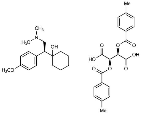 S-Venlafaxine-di-p-toluoyl-L-tartrate Salt
