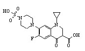Sulfociprofloxacin