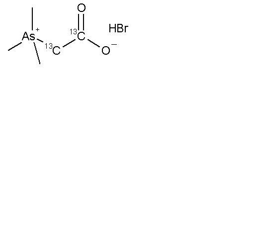 Trimethylarsenobetaine-<sup>13</sup>C<sub>2</sub> Hydrobromide