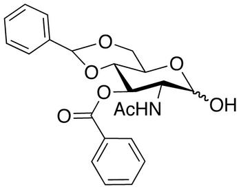 2-Acetamido-3-benzoyl-4,6-O-benzylidene-2-deoxy-D-glucopyranose