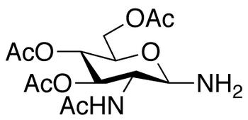 2-Acetamido-2-deoxy-3,4,6-tri-O-acetyl-β-D-glucopyranosylamine