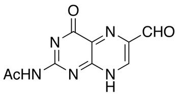 2-Acetamido-6-formylpteridin-4-one