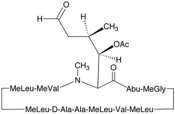 6-[(3R,4R)-3-(Acetyloxy)-N,4-dimethyl-6-oxo-L-norleucine] Cyclosporin A