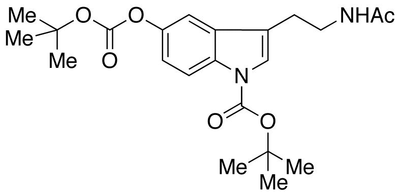 N-Acetyl-N,O-bis(tert-butoxycarbonyl) Serotonin