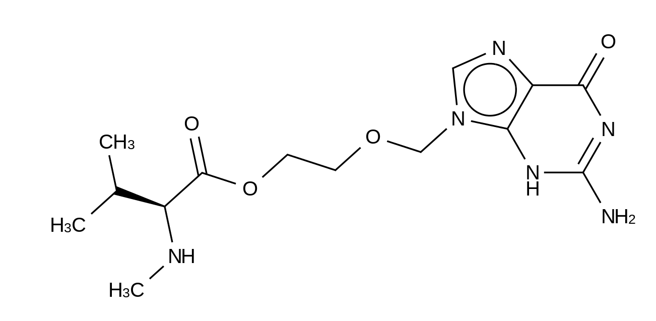 Acyclovir N-Methyl-L-valinate HCl