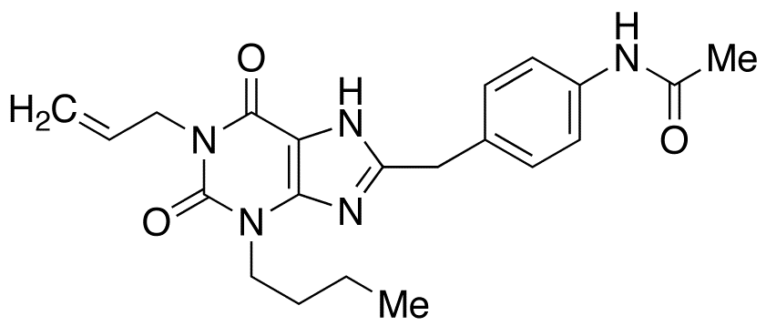 N-[4-(1-Allyl-3-butyl-2,6-dioxo-2,3,6,7-tetrahydro-1H-purin-8-ylmethyl)phenyl]acetamide