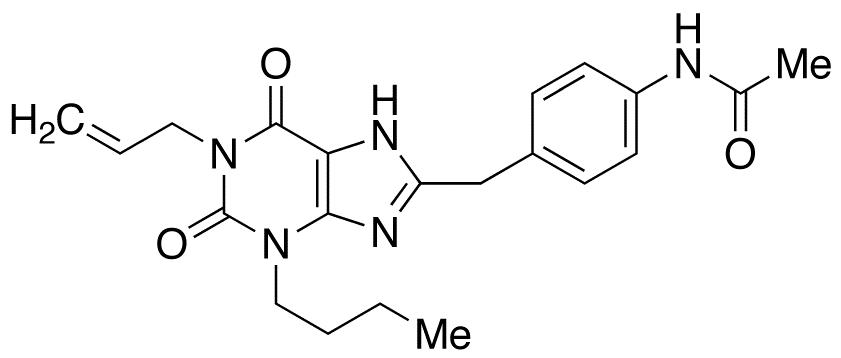 N-[4-(1-Allyl-3-butyl-2,6-dioxo-2,3,6,7-tetrahydro-1H-purin-8-ylmethyl)phenyl]acetamide