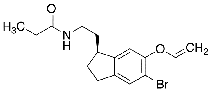 (S)-N-[2-[6-Allyloxy-5-bromo-2,3-dihydro-1H-inden-1-yl]ethyl]propanamide