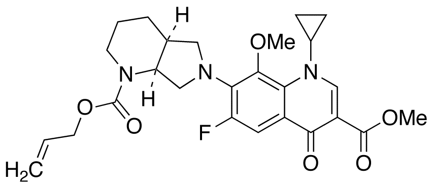 N-Allyloxycarbonyl Moxifloxacin