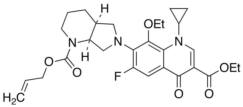 N-Allyloxycarbonyl 8-Ethoxy Moxifloxacin Ethyl Ester