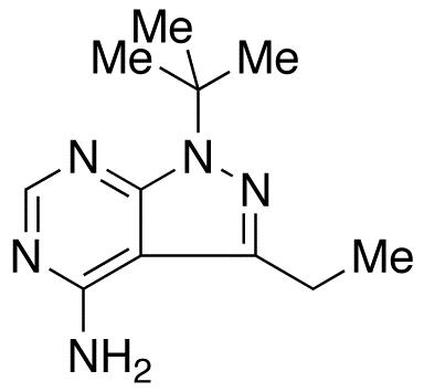 4-Amino-1-tert-butyl-3-(3-ethyl)pyrazolo[3,4-d]pyrimidine