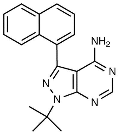 4-Amino-1-tert-butyl-3-(1'-naphthyl)pyrazolo[3,4-d]pyrimidine
