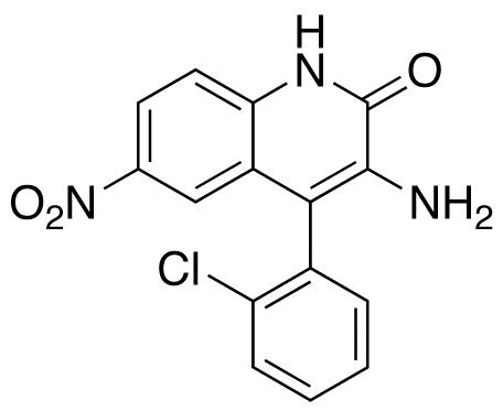 3-Amino-4-(2-chlorophenyl)-6-nitro-2(1H)-quinolinone(Clonazepam Impurity)