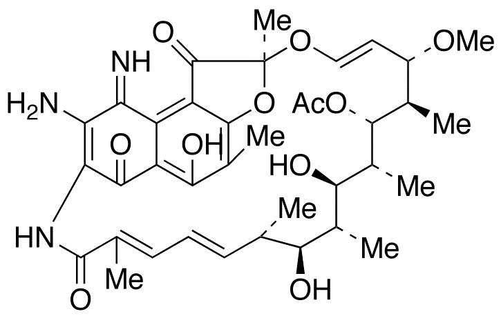 3-Amino-4-deoxy-4-imino Rifamycin S