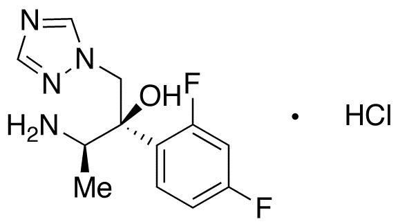 (αR)-α-[(1R)-1-Aminoethyl]-α-(2,4-difluorophenyl)-1H-1,2,4-triazole-1-ethanol hydrochloride