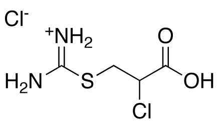 3-[(Aminoiminomethyl)thio]-2-chloro-propanoic Acid HCl