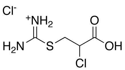 3-[(Aminoiminomethyl)thio]-2-chloro-propanoic Acid HCl