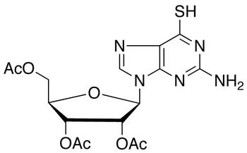 2-Amino-6-mercaptopurine-9-(2',3',5'-tri-O-acetyl-β-ribofuranosyl)purine