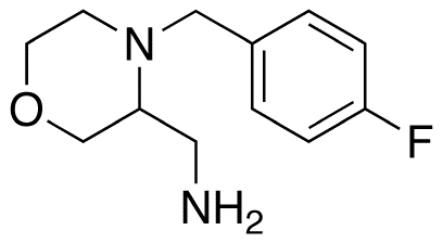 3-Aminomethyl-4-(4-fluorobenzyl)morpholine
