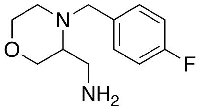 3-Aminomethyl-4-(4-fluorobenzyl)morpholine