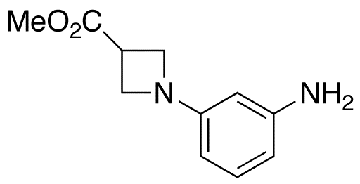 1-(3-Aminophenyl)-3-azetidinecarboxylic Acid Methyl Ester