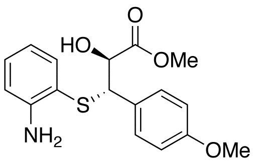 (αS,βS)-β-[(2-Aminophenyl)thio]-α-hydroxy-4-methoxybenzenepropanoic Acid Methyl Ester