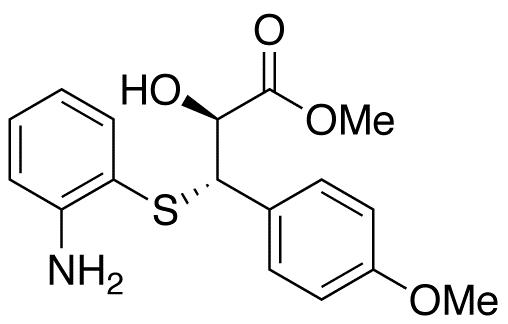 (αS,βS)-β-[(2-Aminophenyl)thio]-α-hydroxy-4-methoxybenzenepropanoic Acid Methyl Ester