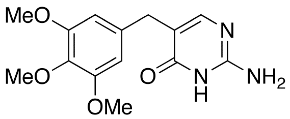 2-Amino-5-[(3,4,5-trimethoxyphenyl)methyl]-4(1H)-pyrimidinone