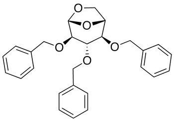 1,6-Anhydro-2,3,4-tri-O-benzyl-β-D-glucopyranose