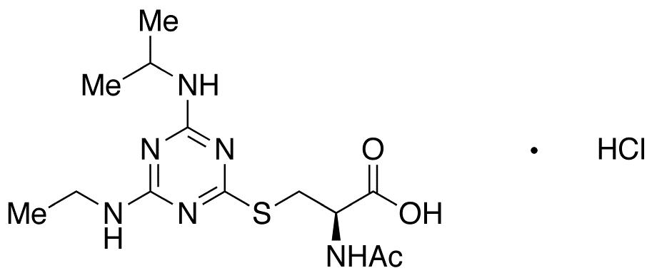 Atrazine Mercapturate HCl