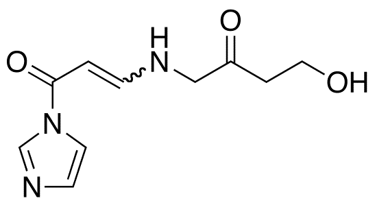 1-(4-Aza-8-hydroxy-6-oxo)oct-2-en-1-oylimidazole(mixture E/Z)