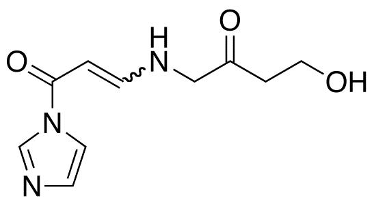 1-(4-Aza-8-hydroxy-6-oxo)oct-2-en-1-oylimidazole(mixture E/Z)